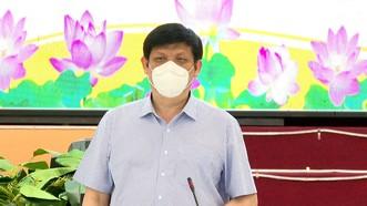 Bộ trưởng Bộ Y tế kiểm tra phòng chống dịch Covid-19 tại Long An