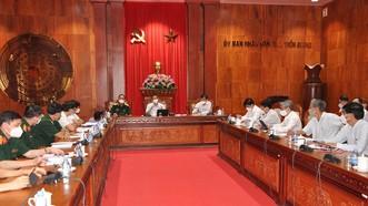 Phó Thủ tướng Vũ Đức Đam yêu cầu Tiền Giang nâng cao hiệu quả xét nghiệm, tầm soát F0