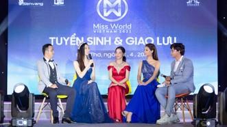 """Miss World Vietnam 2021 khai hội """"tuyển sinh"""" tại Đại học Nam Cần Thơ"""