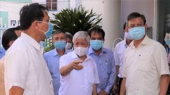 Chủ tịch Ủy ban Trung ương MTTQ Việt Nam kiểm tra công tác chuẩn bị bầu cử tại Kiên Giang