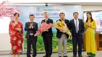 Trung Nam Group ký kết hợp tác chiến lược với Công ty Hitachi Sustainable Energy