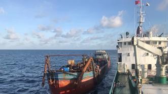 Tạm giữ phương tiện và đưa 10 người trở về từ Campuchia đi cách ly