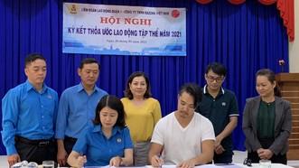 LĐLĐ quận 1 ký thỏa ước lao động tập thể với Công ty TNHH Razona Việt Nam