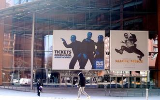 3月1日當天,歷屆柏林電影節主會場所在地柏林電影宮門庭冷落。(圖源:互聯網)