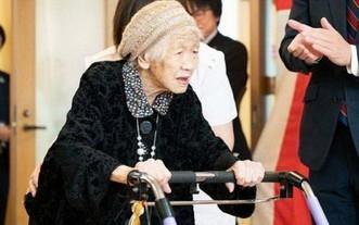 田中力子老人。(圖源:互聯網)
