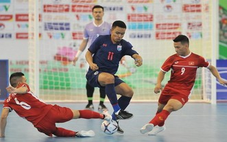 越泰爭奪2021年世界室內足球錦標賽入場券