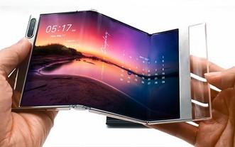 """三星顯示新一代OLED技術""""S Foldable""""。(圖源:Samsung)"""