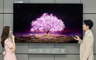 LG 電子全球首推 83 英寸 OLED 電視