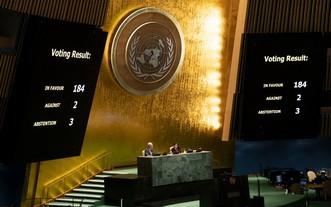 聯合國大會就美國有必要停止對古巴的禁運進行投票。(圖源:聯合國)
