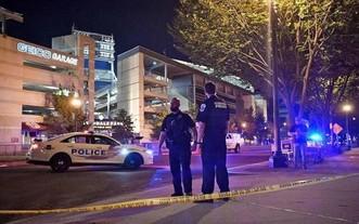 美國警察封鎖一起槍擊案現場。(示意圖:互聯網)