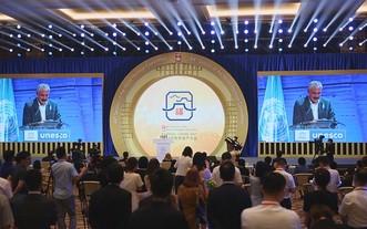 第四十四屆世界遺產大會現場。(圖源: 互聯網)