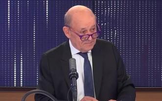 法國外交部長勒德里昂。(  圖源:推特)