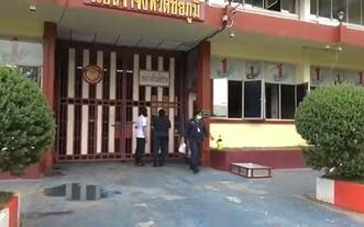 泰國洛坤府公共衛生辦公室17日表示,該府一所監獄2500餘名服刑人員中有1195人確診感染新冠病毒。(圖源:泰國媒體)