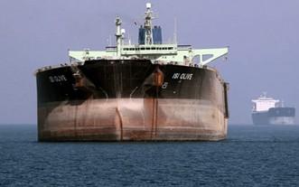 一艘伊朗油輪。(圖源:AFP)