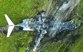美飛機墜毀   21人全部生還