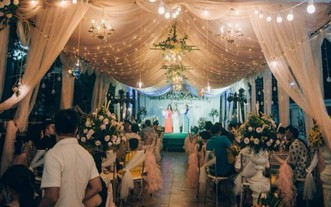 河靖省恢復婚宴活動。(示意圖源:互聯網)