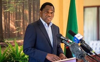 贊比亞共和國總統哈凱恩德‧希奇萊馬。(圖源:Getty Images)
