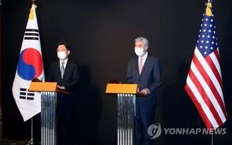 韓美對朝代表在華盛頓會晤,共商終戰宣言。(圖源:韓聯社)