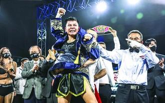 我國首位拳手獲得世界拳王金腰帶