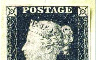 """首枚郵票""""黑便士""""估可拍出 600 萬英鎊"""