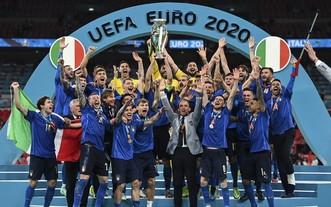 意大利球隊奪冠2020年歐洲盃(圖源:互聯網)