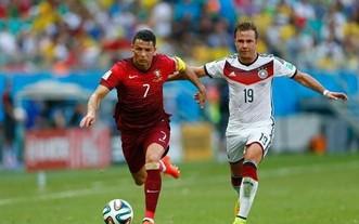 歐洲盃F組第二輪德國對陣葡萄牙 - 生死大戰!