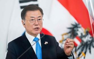 韓國總統文在寅。