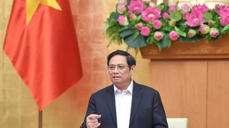 Thủ tướng Phạm Minh Chính giao Bộ GTVT trả lời kiến nghị ngừng chủ trương áp giá sàn vé máy bay nội địa. ẢNH: VIẾT CHUNG