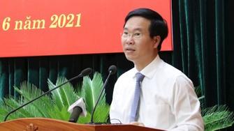 Đồng chí Võ Văn Thưởng. Nguồn: Thanhuytphcm