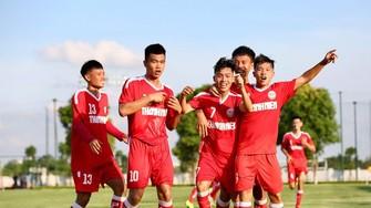 U19 Becamex Bình Dương có thuận lợi khi sẽ là đội chủ nhà của VCK. Ảnh: Khả Hòa