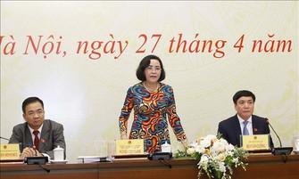 代表工作組主任、國家選舉委員會委員、國家選舉委員會人事小組常務副組長阮氏清