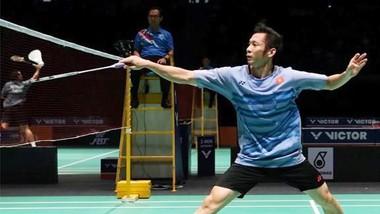 Tay vợt Nguyễn Tiến Minh không thể sang Singapore đấu giải. Ảnh: DŨNG PHƯƠNG