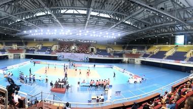 Nhà thi đấu hiện đại của Quảng Ninh sẽ là một trong những địa điểm tổ chức Đại hội TDTT Toàn quốc 2022. Ảnh: NHẬT ANH