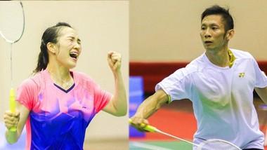 Hai vợ chồng Vũ Thị Trang và Nguyễn Tiến Minh sẽ cùng dự Giải thế giới 2021.