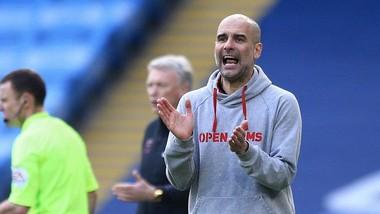 HLV Pep Guardiola tập trung hướng đến 10 ngày hệ trọng. Ảnh: Getty Images