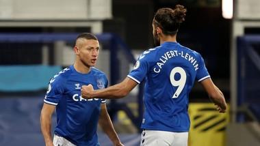 Richarlison tỏa sáng với trận thứ 3 liên tiếp ghi bàn. Ảnh: Getty Images