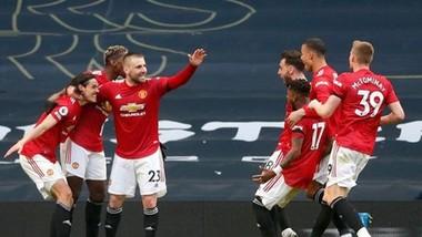 Man.United đã có hiệp 2 bùng nổ để đòi nợ hoàn hảo tại Tottenham. Ảnh: Getty Images