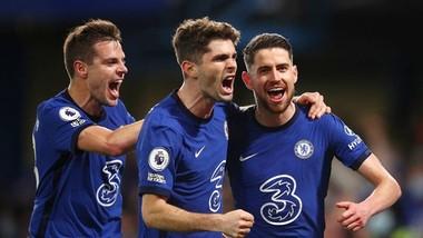 Chelsea đã nắm quyền kiểm soát vận mệnh trong cuộc chiến với tốp 4. Ảnh: Getty Images