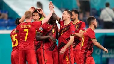Tuyển Bỉ trở thành đội tuyển thứ 3 toàn thắng vòng bảng sau Italy và Hà Lan. Ảnh: Getty Images