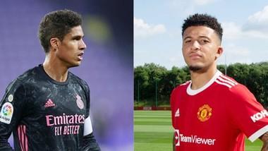 Những tân binh Jadon Sancho và Raphael Varane liệu sẽ giúp Man.United lật ngược dự đoán?