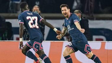 Lionel Messi đã có thể tận hưởng lại cảm giác ăn mừng bàn thắng quen thuộc.