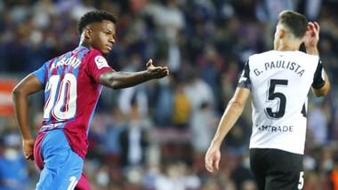 Ansu Fati đã tỏa sáng để giúp Barca tìm lại chiến thắng.