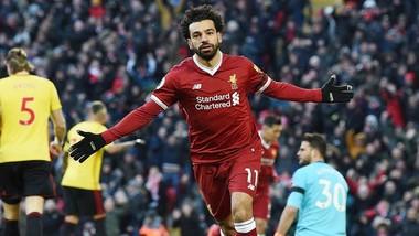 Mohamed Salah chắc chắn là cầu thủ xuất sắc nhất cho đến thời điểm này của mùa giải.