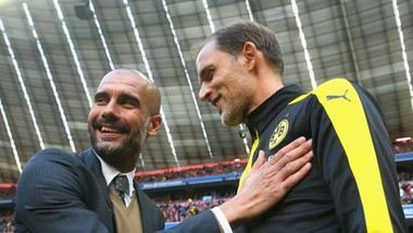Pep Guardiola và Thomas Tuchel