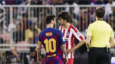 Leo Messi (Barcelona) và Joao Felix (Atletico Madrid)