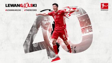 Lewandowski được cộ đỗng trên website của Bundesliga