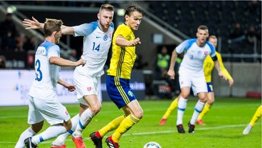 Thụy Điển từng đè bẹp Slovakia 6-0 hồi năm 2017