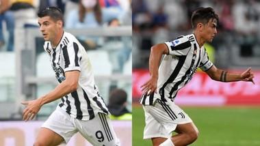 Alvaro Morata và Paulo Dybala đều dính chấn thương
