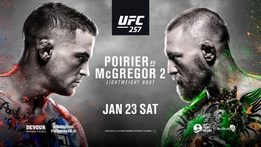 Trận tái chiến McGregor vs Poirier là tâm điểm của sự kiện UFC 257