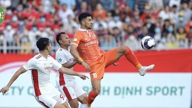 Topenland Bình Định thua trận khá đáng tiếc trên sân nhà